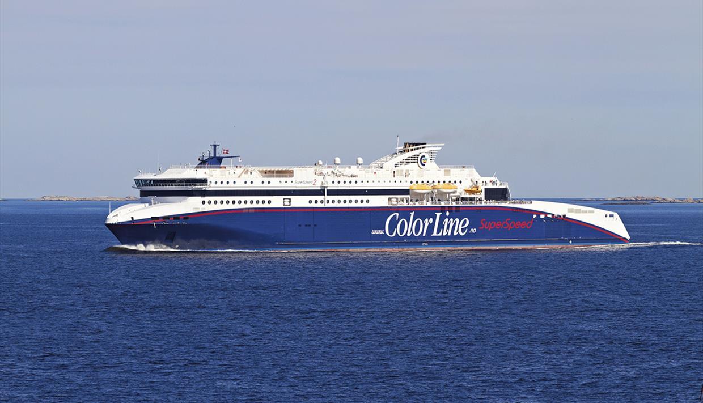Book color line ferry - Hirtshals Dk Larvik Color Line