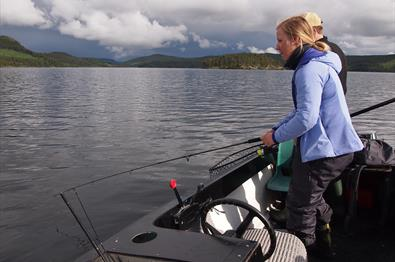 Fishing - Lake Øyangen