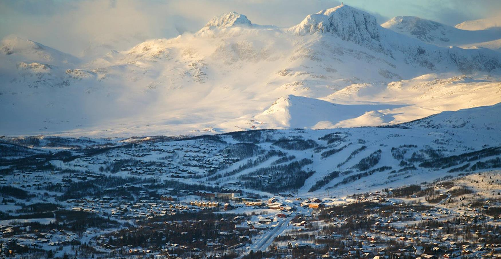 Thumbnail for Alpine skiing centres in Valdres