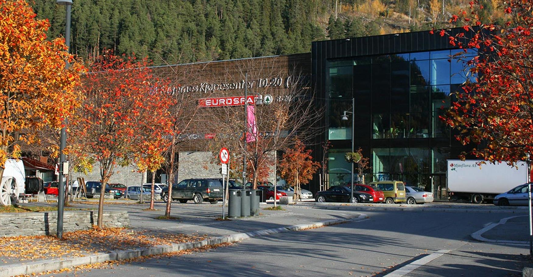 Fagernes Shopping Mall.