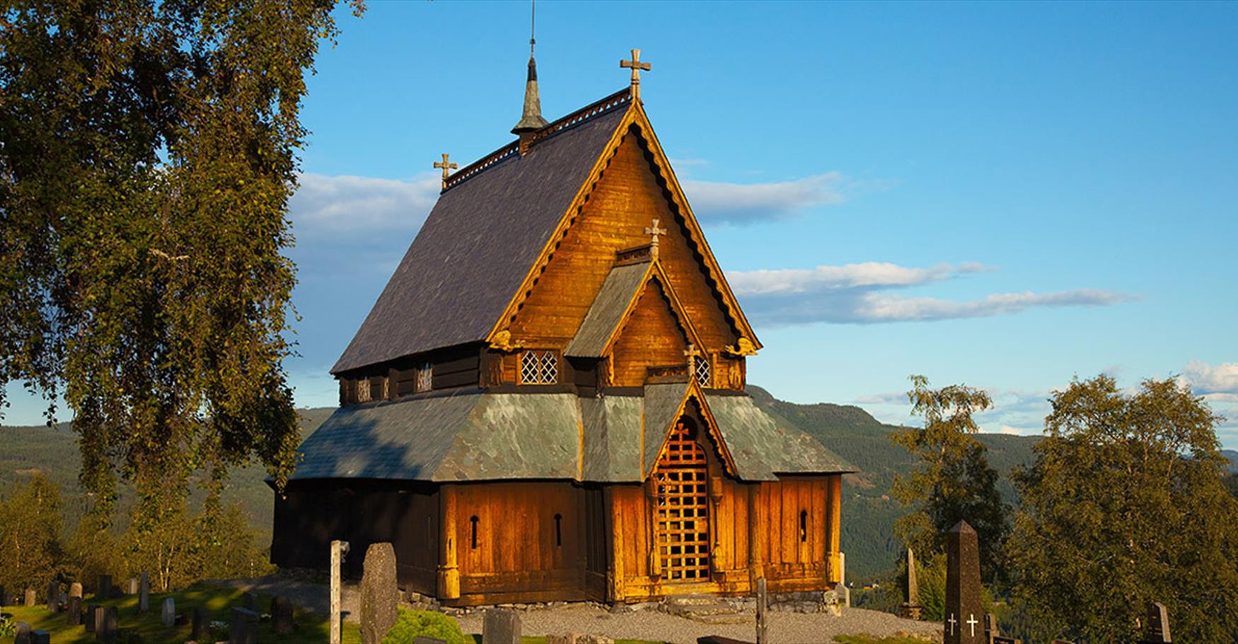 Reinli Stave Church.