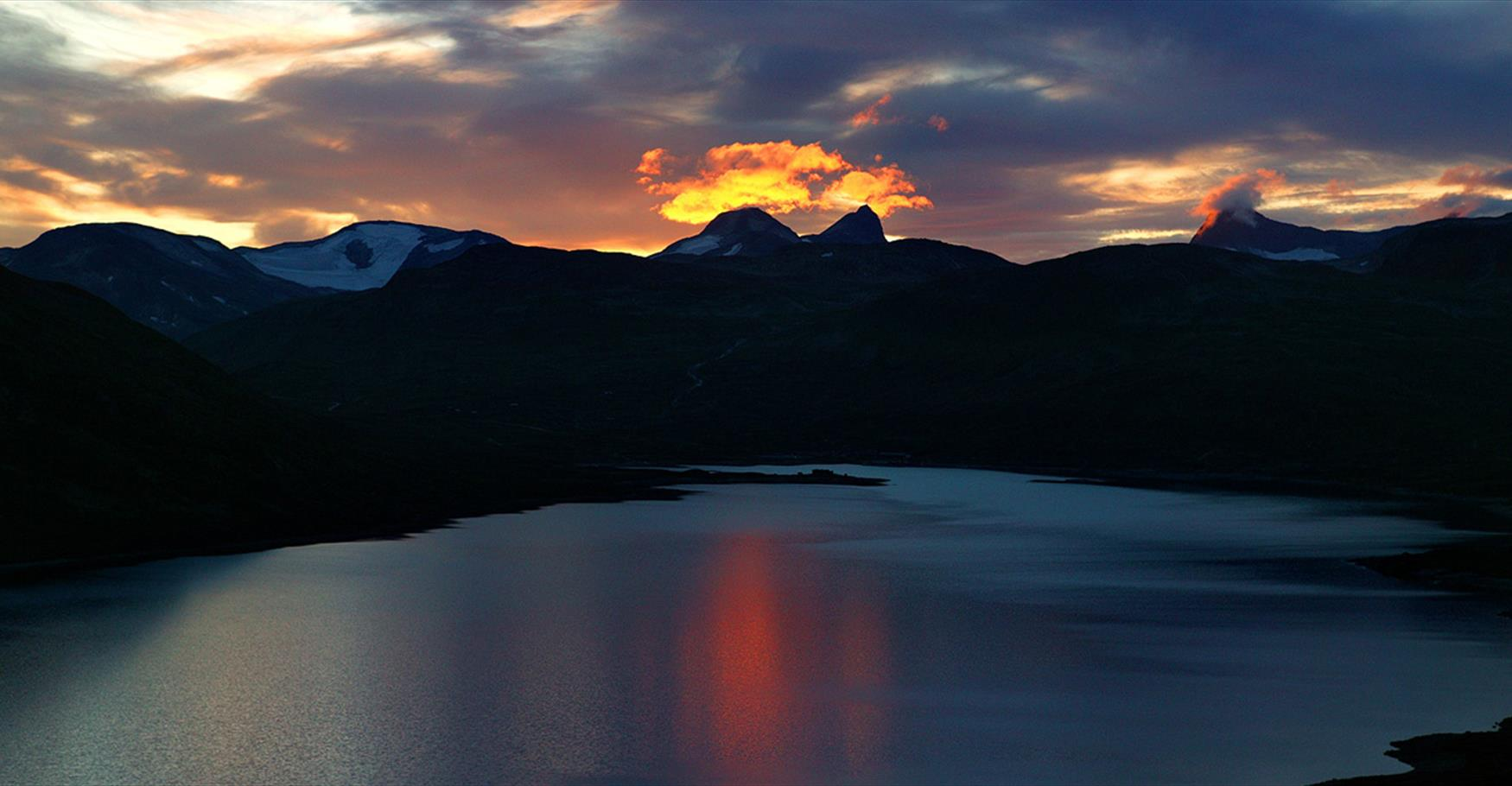 Evening in Jotunheimen.