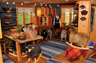 Arts and crafts sales in Valdres - Høvda Sylv og Tre