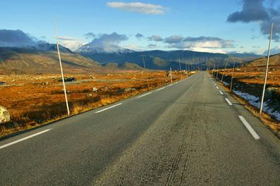 National Tourist Route Valdresflye.