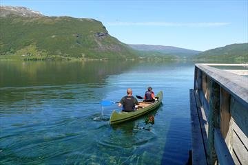 Bøflaten Camping - Canoe and boat rental