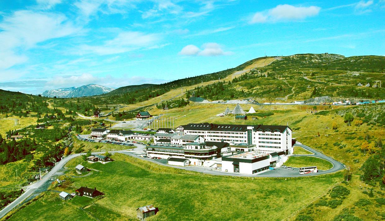 Storefjell Resort Hotel is situated on Golsfjellet between Norway and Hallingdal