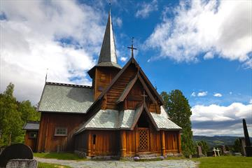 Guiding in the Hedalen Stave Church