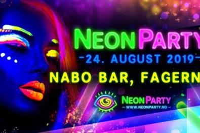 Neon Party // Back to School på Nabo Bar