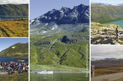 Day trip with bus and boat to Jotunheimen