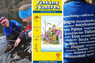 """Fisking i Valdres"" Fishing Licence"