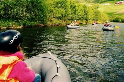 Pack-Rafting - Raudøla River - 2,5 hrs