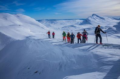 Ski tour to Fagerdalshøe and Synshorn
